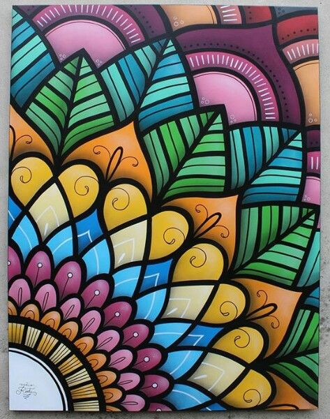color mandala mandalas pinterest mandala mandalas and doodles
