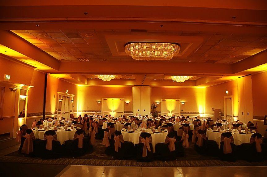 Amber Uplighting Wedding Uplighting Wedding Uplighting Event Lighting