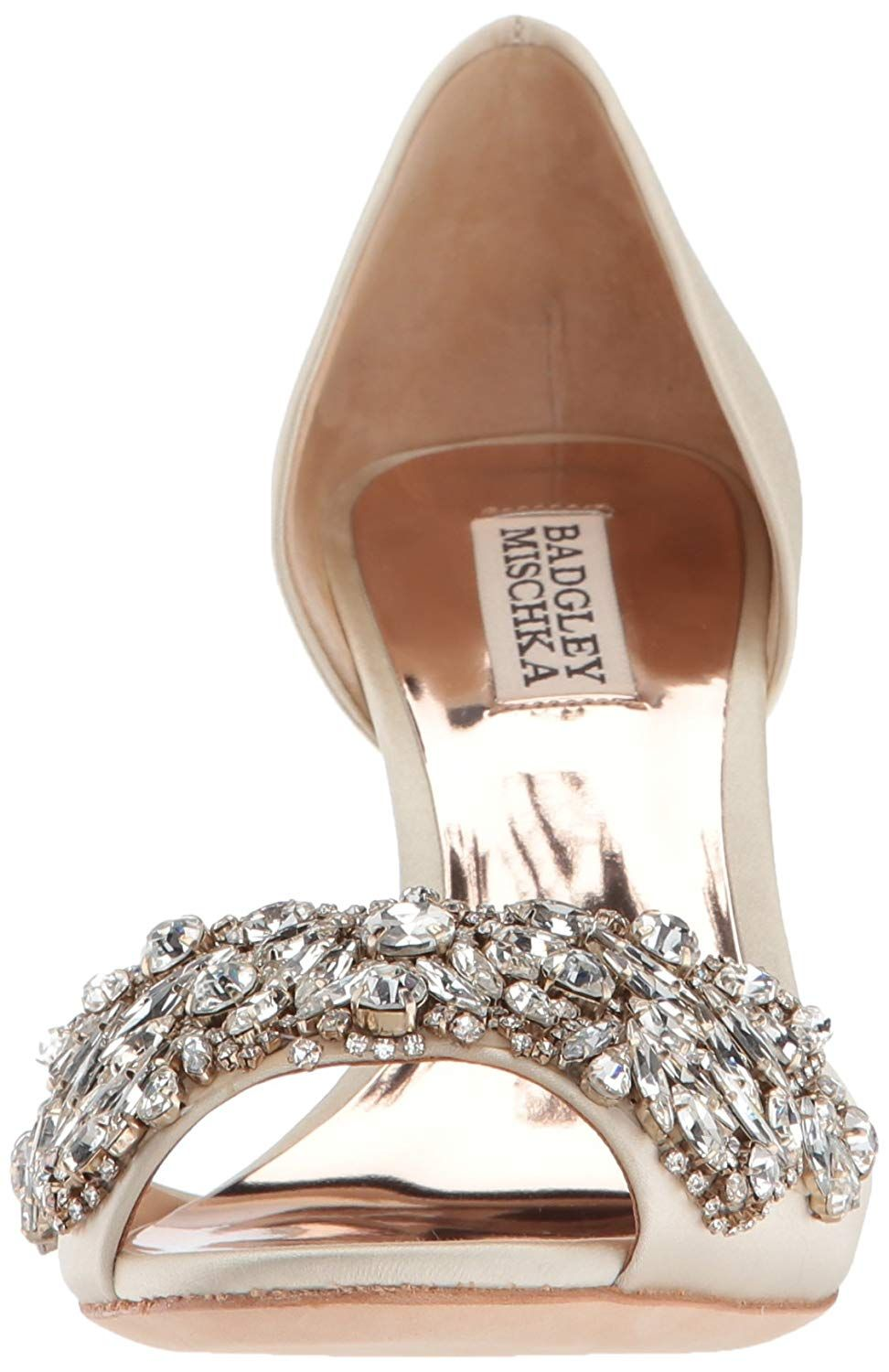 2981685277b5f Amazon.com: Badgley Mischka Women's Hansen Pump, Crystal Blue, 5.5 M ...