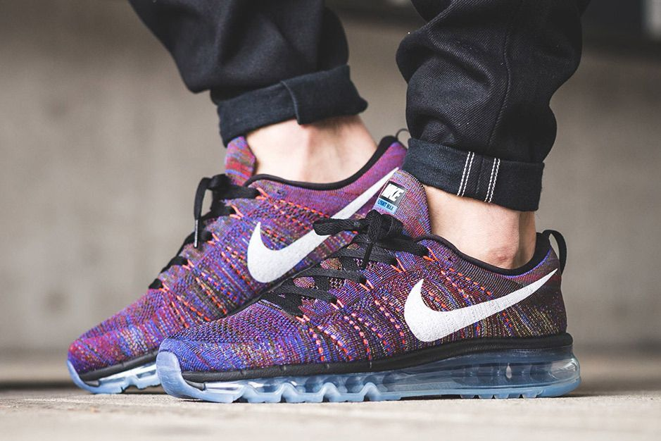 Nike'S Air Max Flyknit Multicolored Silhouette Receives Another Multicolored Flyknit df6c84