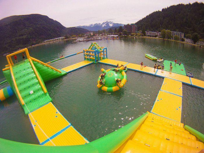 Water Park | Harrison Watersports | Harrison Hot Springs, British Columbia