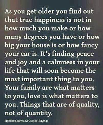 Quality Over Quantity Amazing Inspirational Quotes True Happiness Life Quotes
