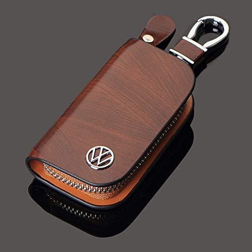 Volkswagen  leather car key cover car key tote key fob wallet car key fob pouch