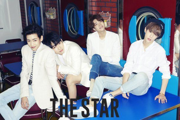 GOT7 have a party with 'The Star' magazine | allkpop.com
