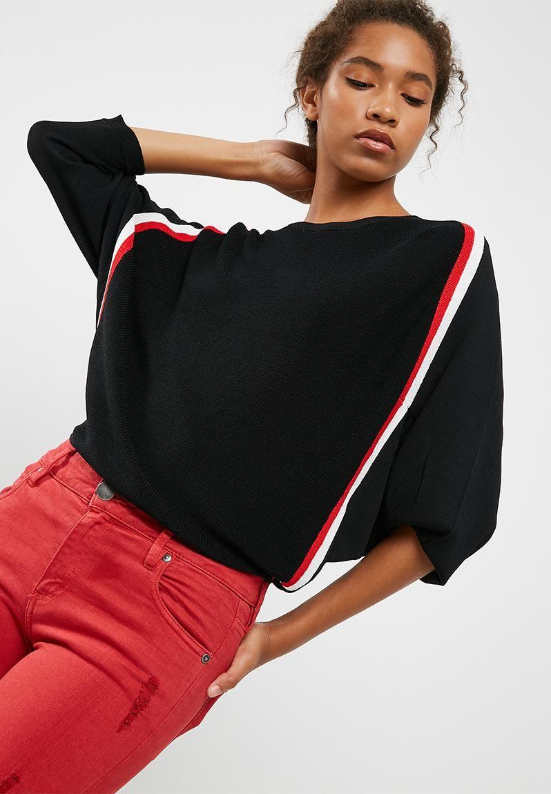 f417612bf0 Nicole sweater - Black ONLY Knitwear