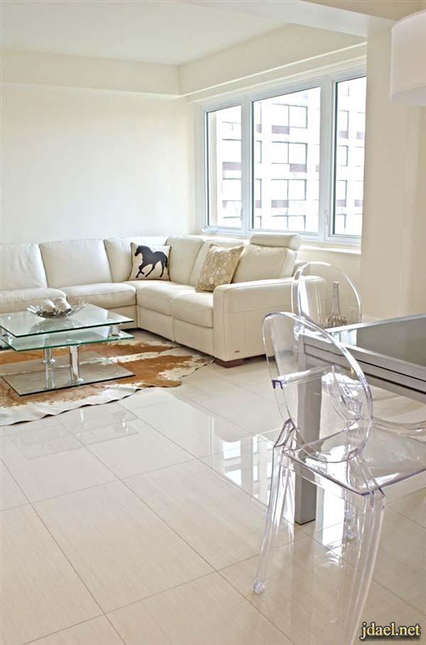 ديكورات صالات وافخم سيراميك ارضيات مموج ومنقوش Attic Bedroom Designs House Interior Home