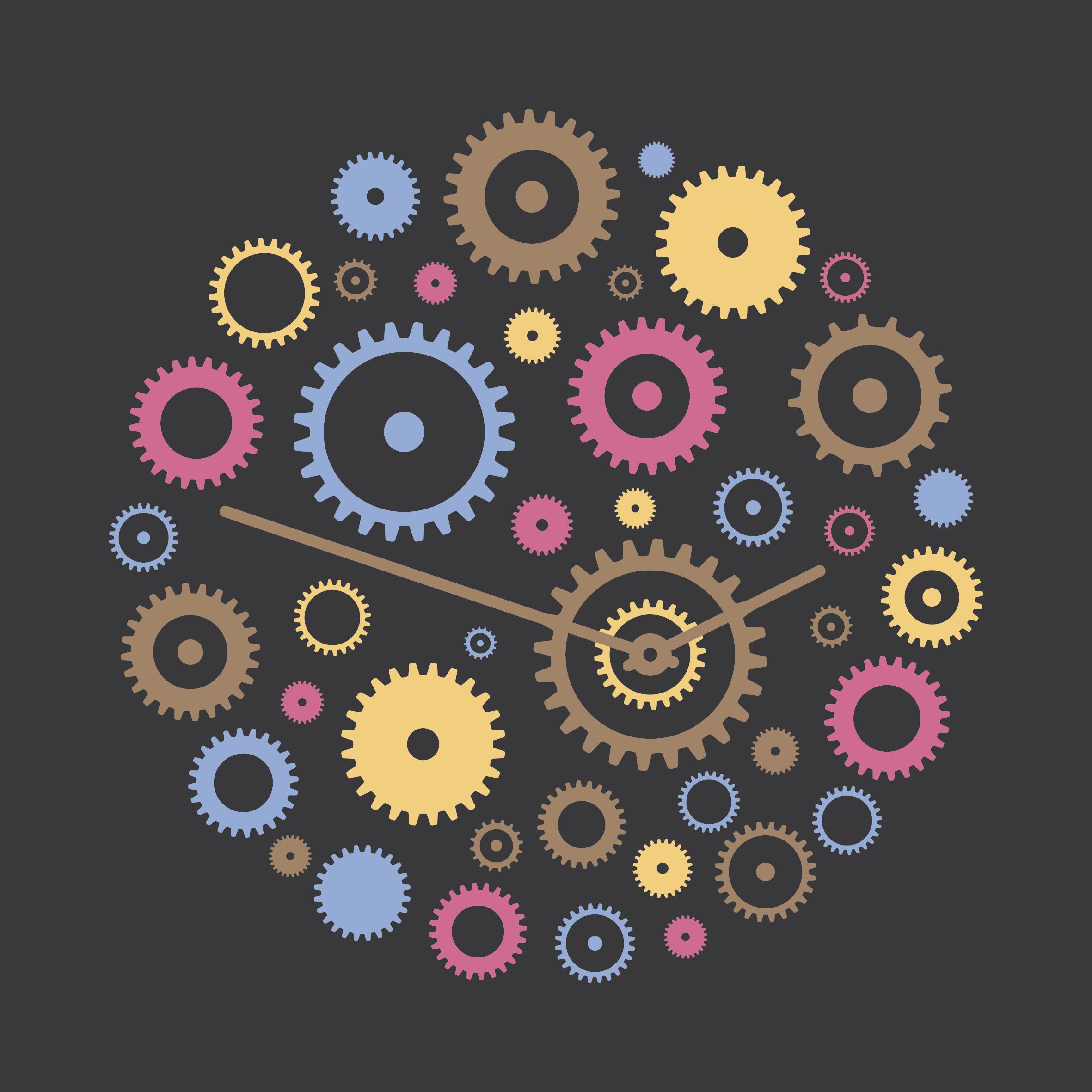 ClockWork logo dark