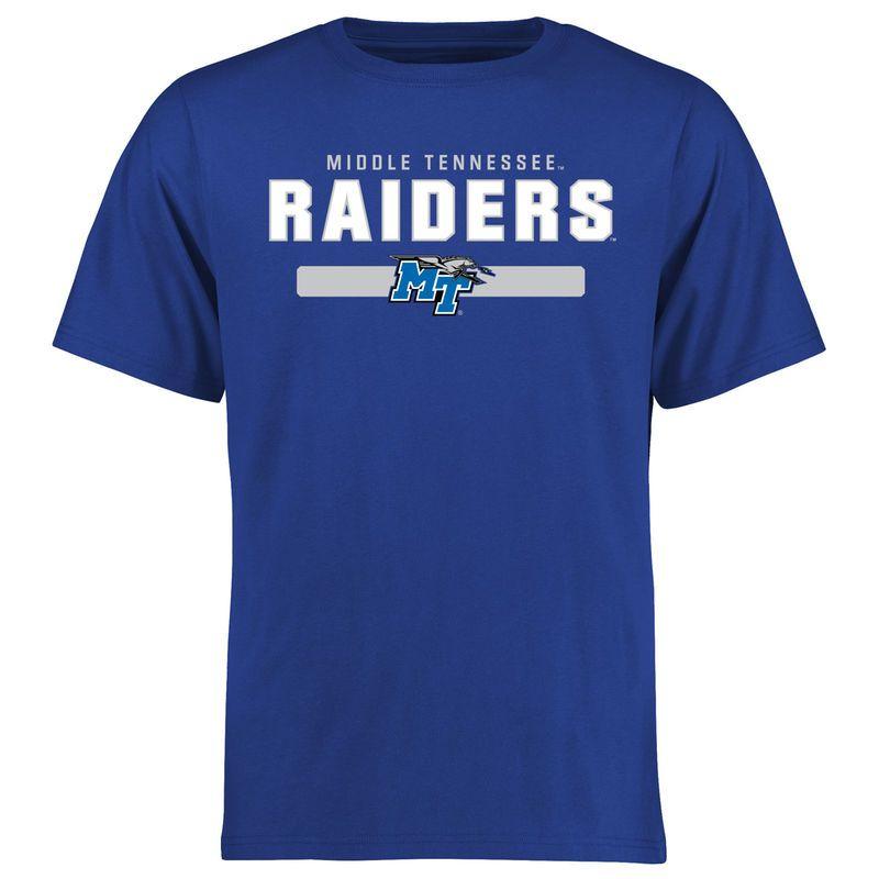 Mid. Tenn. St. Blue Raiders Team Strong T-Shirt - Royal