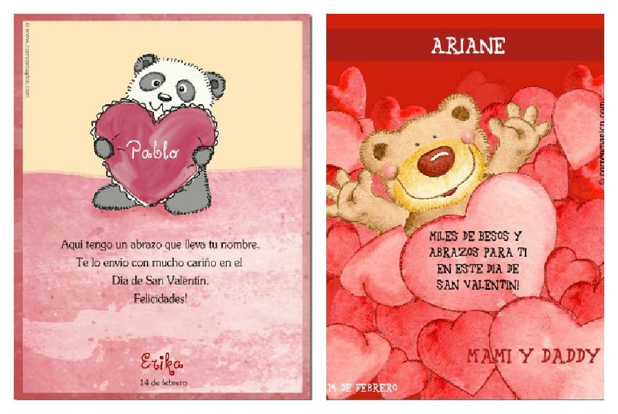 Spanish Activities and Printables for El Día del Cariño -  these Valentines free printable cards are cute!