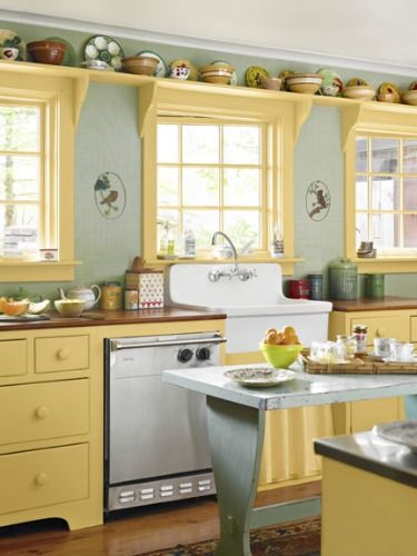 10 Cute And Curious Country Kitchens Country Kitchen Kitchen Inspirations Home Kitchens