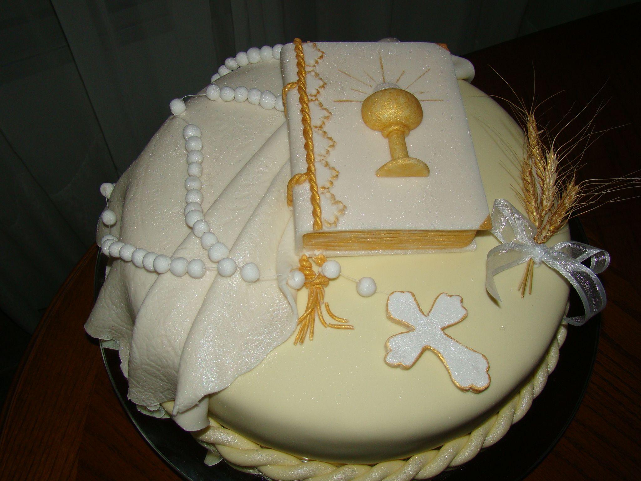 torta de comunion... | tortas decoradas | Pinterest