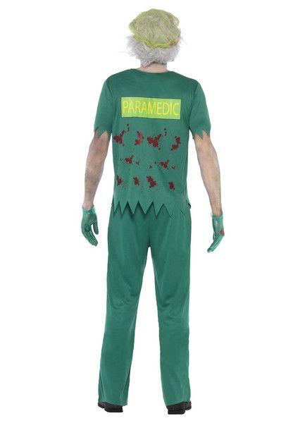 Sm24372 Zombie Paramedic Fancy Dress Costume Smiffys National