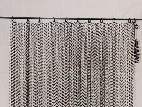 Cortina met lica de chimenea masewa metal cortinas cortinas metalicas y chimeneas - Cortinas metalicas decorativas ...