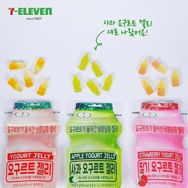 韓國至 fit 手信!益力多 零食又出新口味   Strawberry yogurt, Yogurt, Jelly