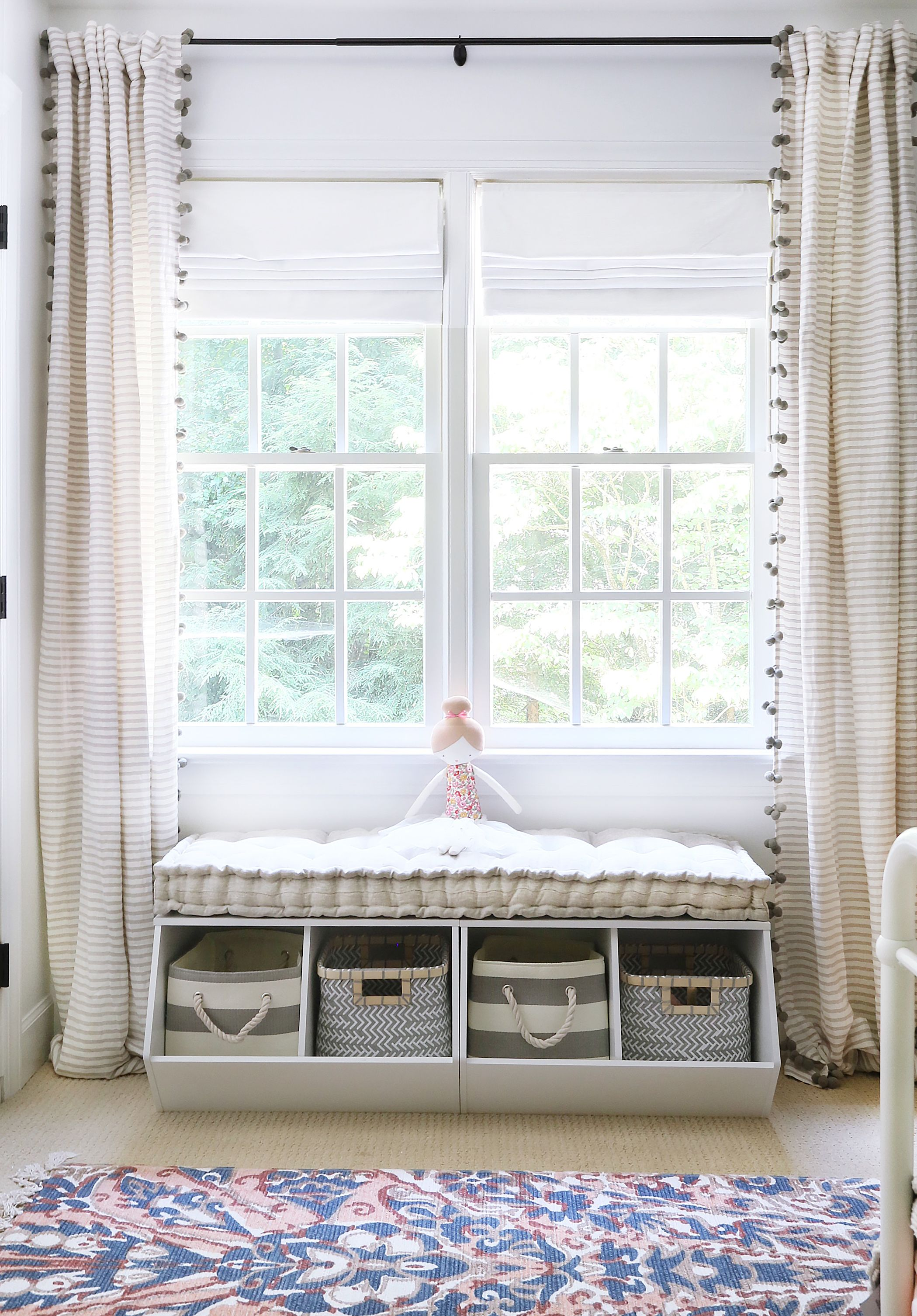 Sensational In The Big Kid Room With Sunny Circle Studio Window Seat Short Links Chair Design For Home Short Linksinfo