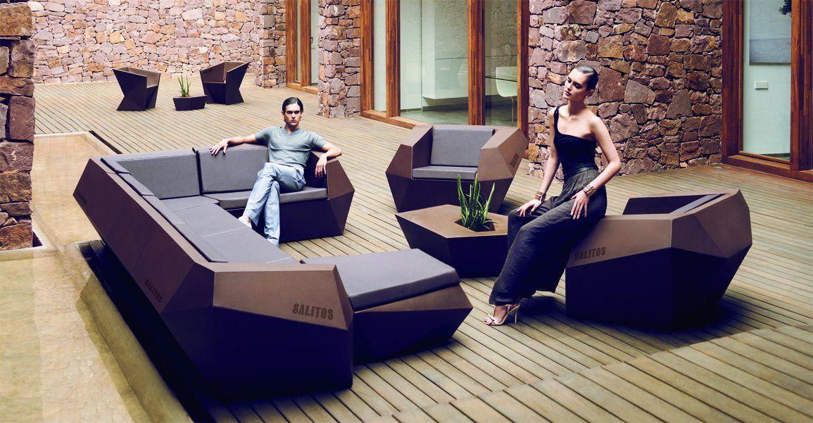 Unsere neuen SALITOS Lounge Möbel sind da. Die wären auch was fürs ...