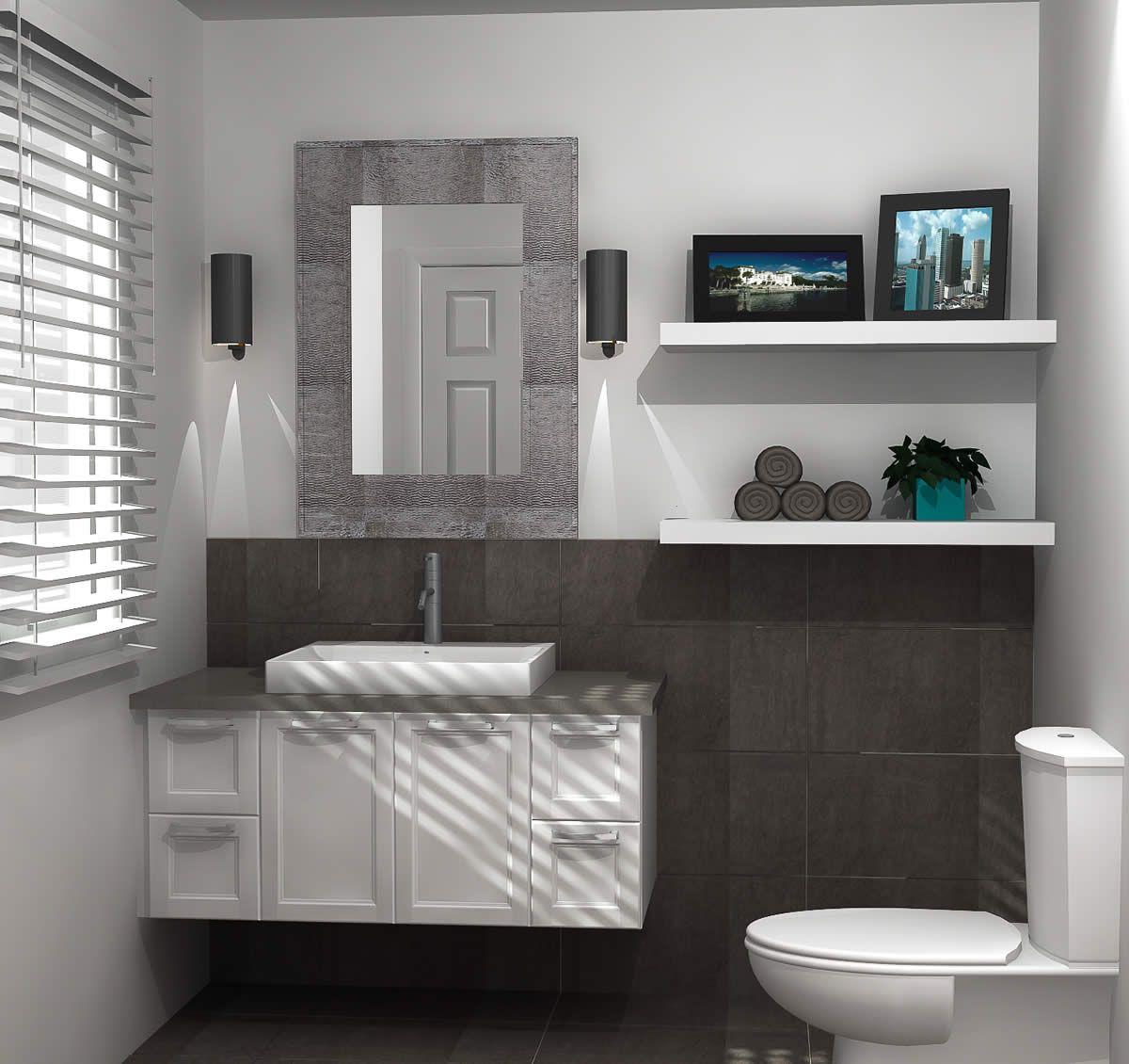 Notre portfolio vous montre des dizaines de mod les de - Creer salle de bain ...