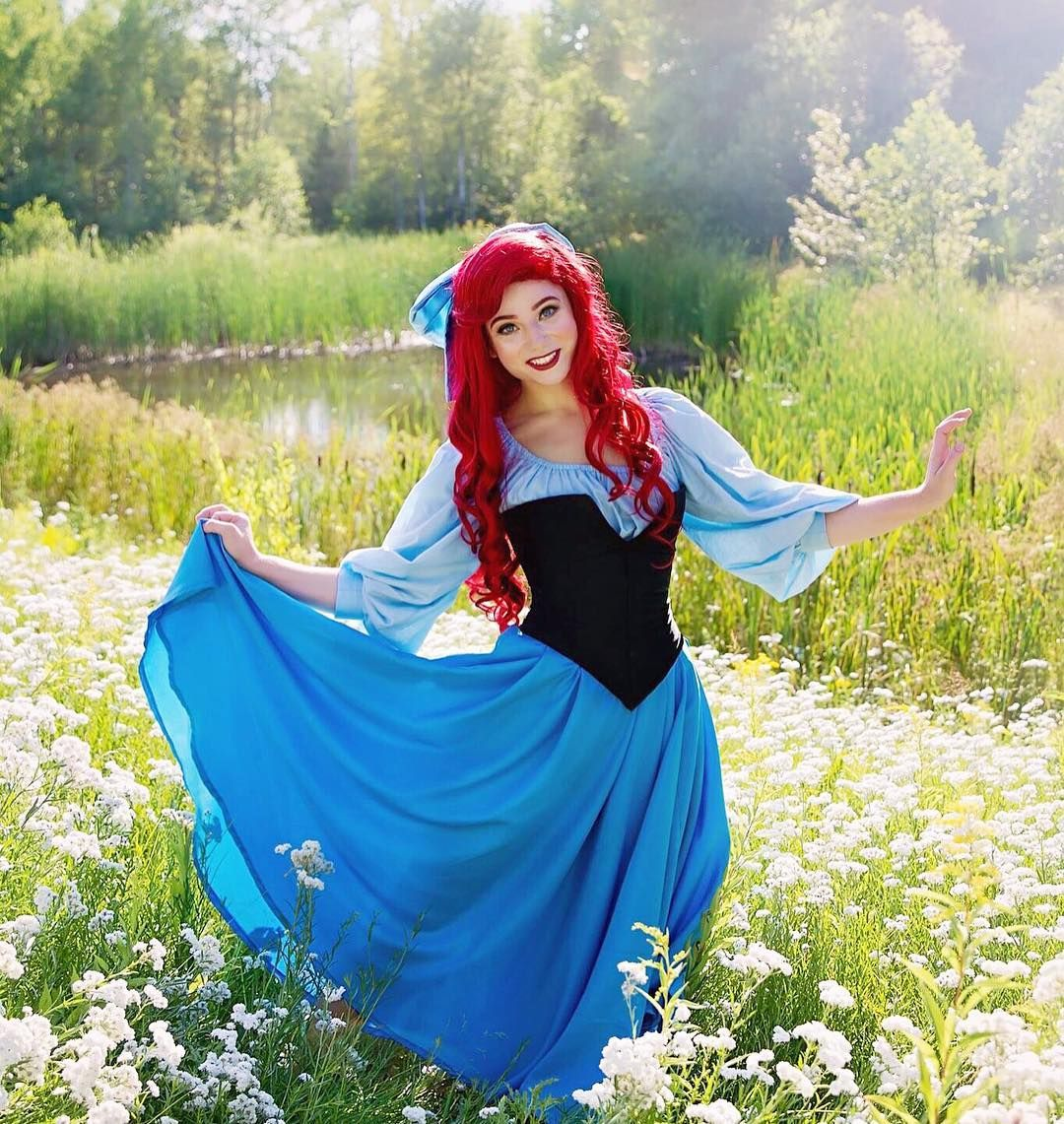 Pin by Katherine Smith on Ariel Costume | Ariel cosplay