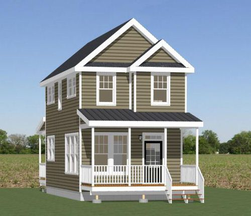 16x30 House -- #16X30H9I -- 895 sq ft Tiny Homes Pinterest