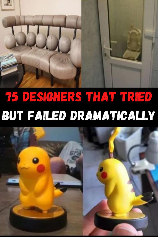 75 Designers Who Failed Dramatically At Their One Job In 2020 Fashion Fail Fun Facts Fails