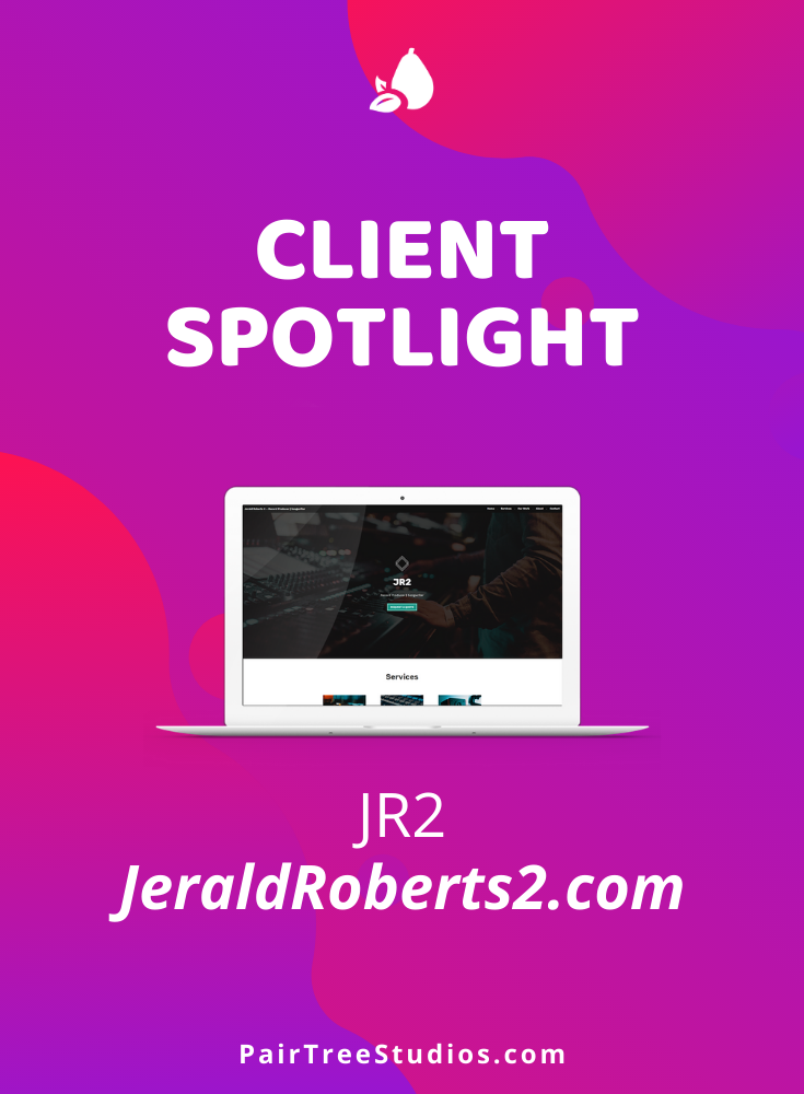Client Spotlight Jr2 In 2020 Simple Website Clients One Page
