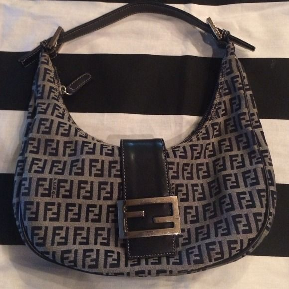 Fendi small shoulder bag authentic Fendi bag perfect for a girls night out  fits all you 0b25d50a1b51a