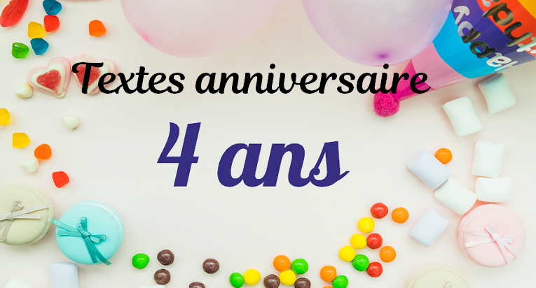 Textes 4 Ans Message Anniversaire Idee Carte Anniversaire Joyeux Anniversaire Garcon
