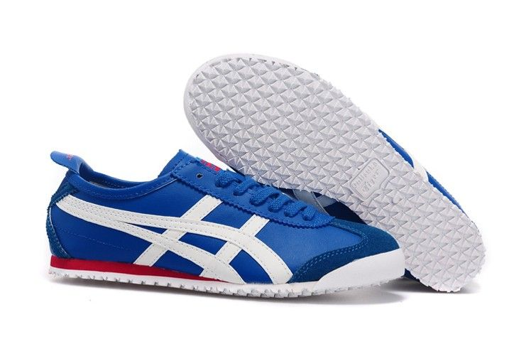 sale retailer 8bbc9 1bff7 Onitsuka Tiger Mexico 66 Shoes (Blue/ White/ Red ...
