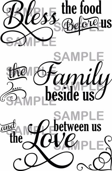 Bless The Food Before Us The Family Beside Us And The Love Between Us Diy Home Decor Purchase This Svg And Begin Creating Your Own Beautiful Cricut Explore Projects Cricut Explore