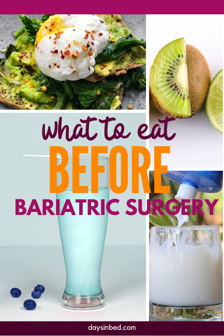 Liver Shrinking Diet For Gastric Bypass Patients Days In Bed Liver Shrinking Diet Bariatric Diet Pre Bariatric Surgery Diet