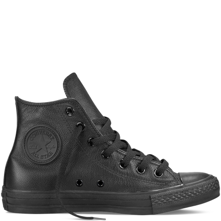 Chuck Taylor All Star Leather | Black leather converse