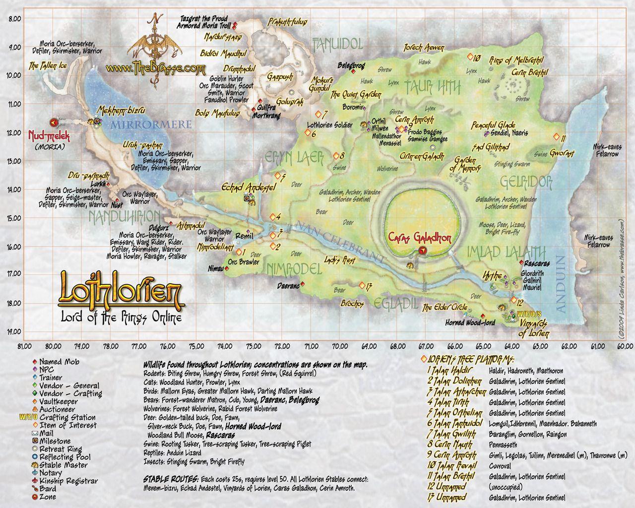 lothlorien | Maps | Middle earth map, Tolkien map, Fantasy map