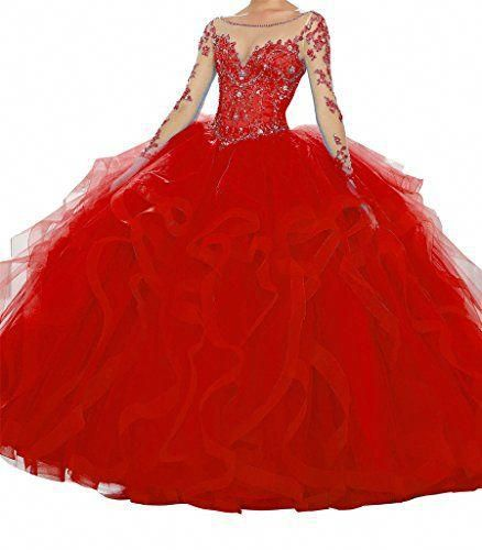 d09b22d7eb Choosing Pretty Red Quinceanera Dresses - Tips To Select The Best Red Gown  For You - Happy Quinceañera  bestquinceaneradresses