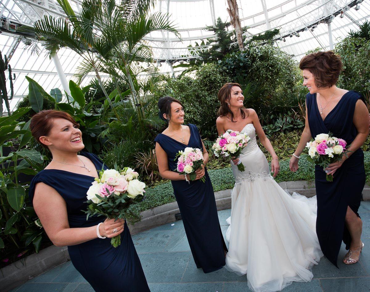 beautiful scottish wedding at glasgow winter gardens scotland