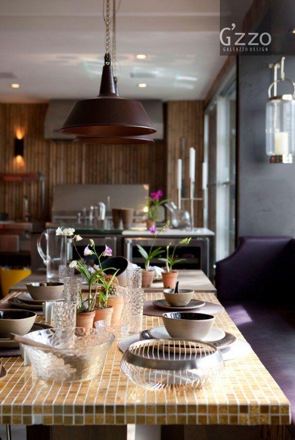 Tisch Mit Mosaikfliesen.Mosaikfliesen Tisch Einrichtungsidee Terrasse Von Galeazzo