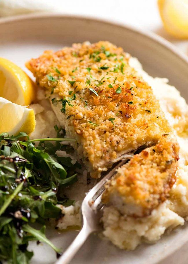 Emergency EASY Fish recipe - Parmesan Crumbed Fish!