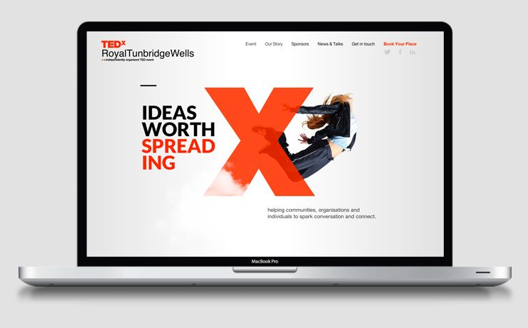Tedx Ifour Design Agency Kent Web Design Agency Web Design Websites Portfolio Web Design