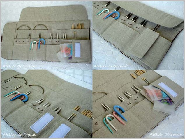 Knitting Needle Organizer Sewing Pattern Whenever I Get To Sew