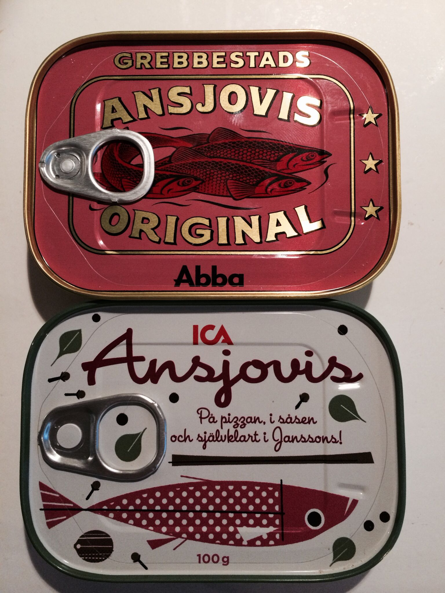 Beautiful anchovies