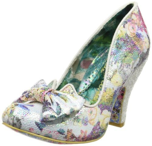 Irregular-Choice-Nick-of-Time-White-Multi-Womens-Heels-Court-Shoes
