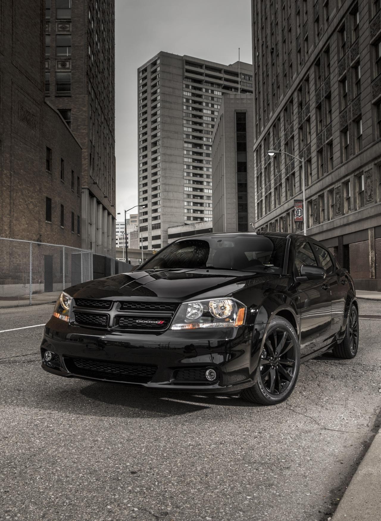 Dodge Avenger third on my list | Dodge | Pinterest | Black rims ...