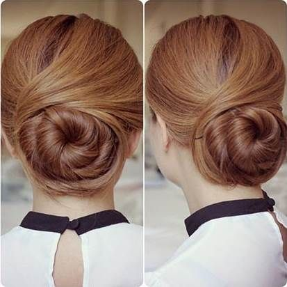 Diy Hairstyles Brilliant How To Diy Elegant Twisted Hair Bun Hairstyle  Hair Buns Bun