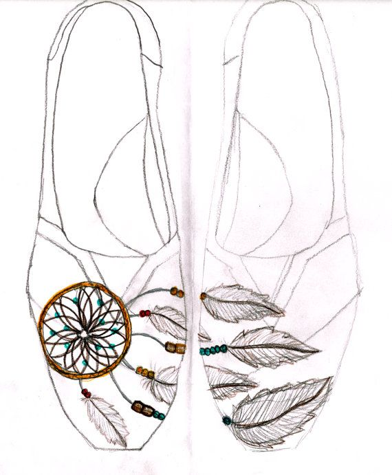 "Walmart Dream Catcher Enchanting Custom Dreamcatcher Toms"" Found A Pair Of Cheap Canvas Shoes At Design Ideas"