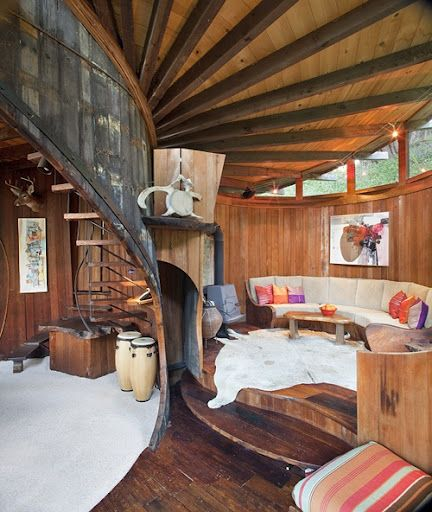 wow! wooden home