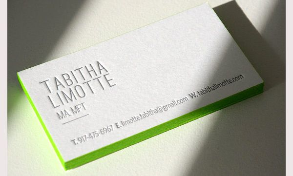 25+ Best Premium Letterpress Business Cards Free \ Premium - letterpress business card