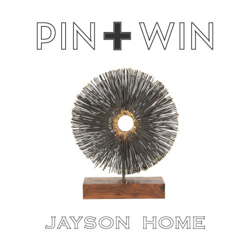 """Jayson Home Pin + Win Contest. Enter for your chance to win this Sur Sculpture.    How to enter:  1. Go to www.pinterest.com/jaysonhome and follow all Jayson Home boards by clicking """"Follow All.""""  2. Repin this product from the """"w i n n i n g !"""" board from the Jayson Home Pinterest page.    Contest ends at 4:00 pm CT on June 14, 2012. For more information visit: http://www.jaysonhome.com/customer-center/pin-and-win-contest?utm_source=Jayson+Home_campaign=Pinterest_2012_06_Contest_medium=Pi"""