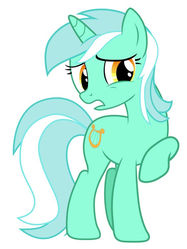 My Little Pony Lyra Coloring Pages Design