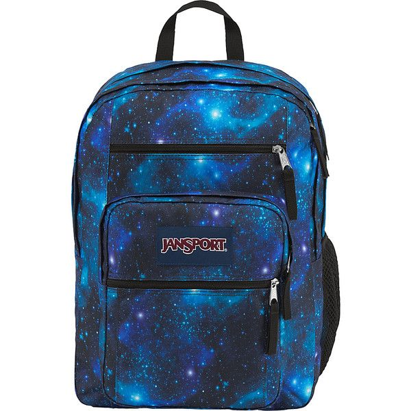 8f4cdedc6075 JanSport Big Student Backpack- Sale Colors - Galaxy - School Backpacks (48  CAD) ❤ liked on Polyvore featuring bags