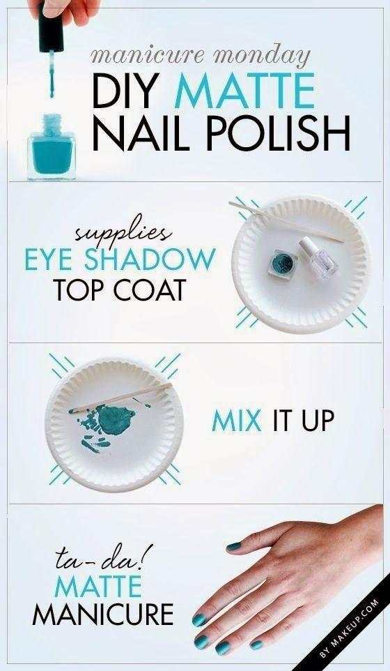 Diy Matte Nail Polish Matte Nail Polish Matte Nails Nails