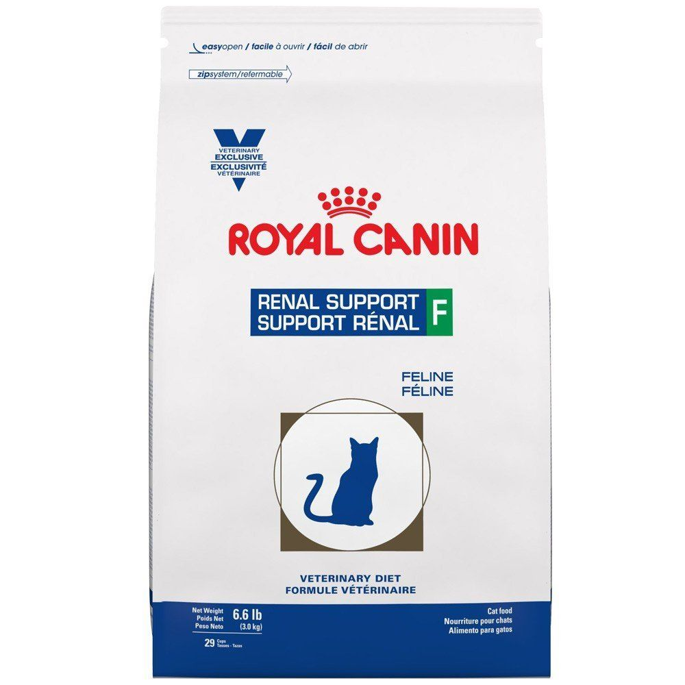 Royal canin feline renal support f dry 66 lb tried